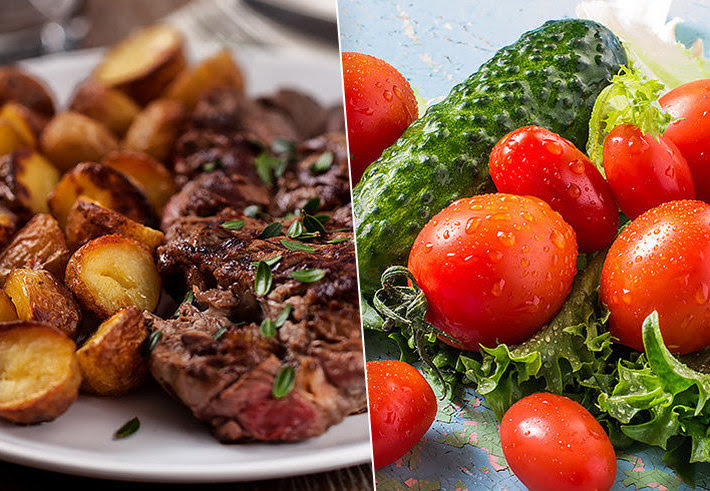 Раздельное питание: какие продукты нельзя есть вместе
